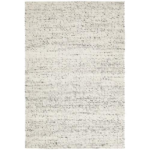 Carlos Felted Wool Rug Grey Natural