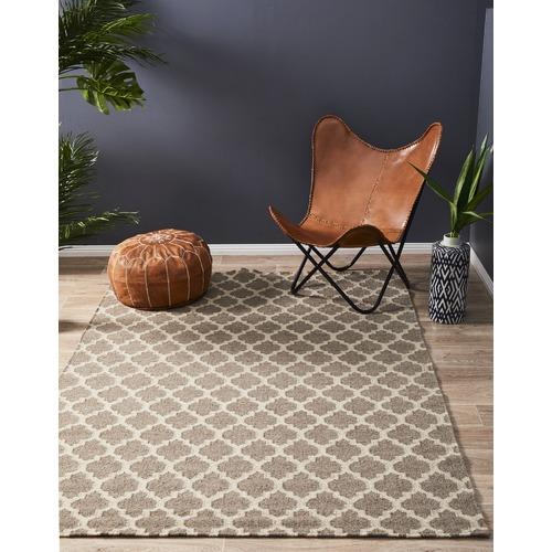 Network Bazaar Trellis Wool Flat Weave Rug Amp Reviews
