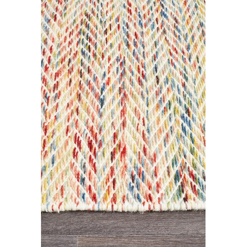 Vali 100 Pure Wool Scandinavian Style Flatweave Rug