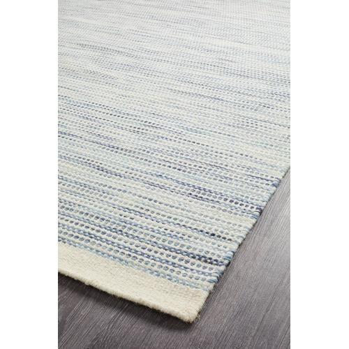 Network Rugs Blue Mani Scandinavian Pure Wool Rug