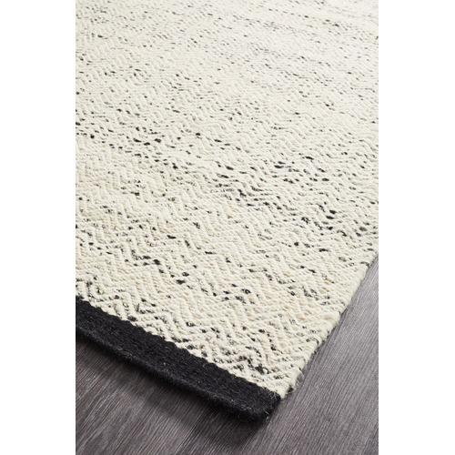 Network Rugs Zigga Flat Weave Rug White