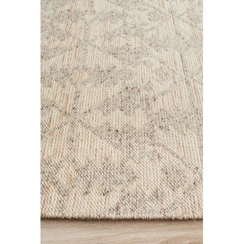 Network Rugs Natural Hand-Woven Modern Tribal Rug