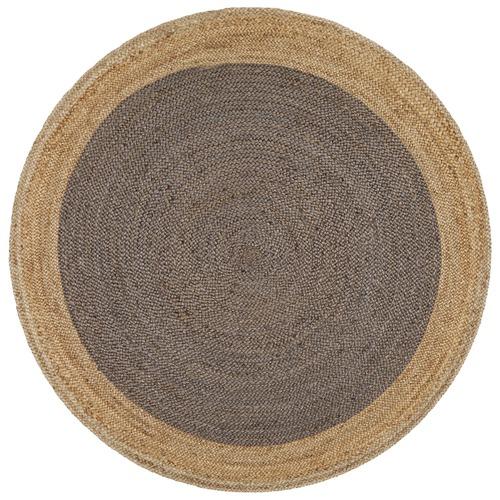 Network Rugs Jasmine Round Charcoal Rug