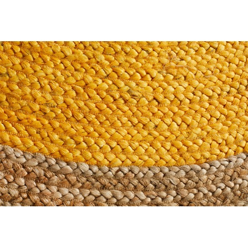 Network Rugs Jute Natural Yellow Rug