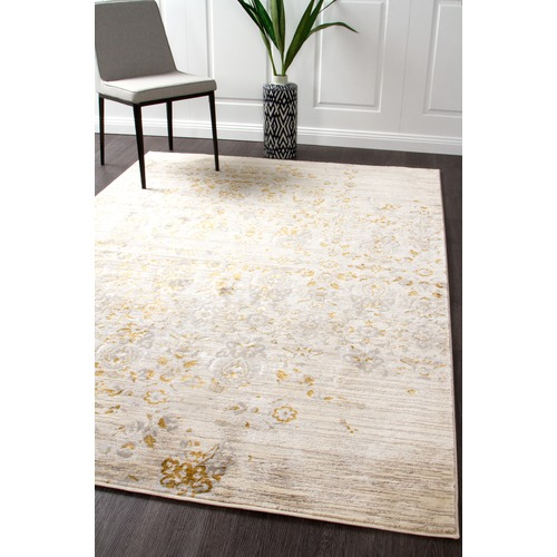 Network Rugs Gold Power Loomed Rug