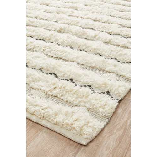 Network Rugs Sauville Flatweave Cotton & Wool Rug