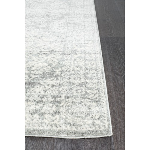Network Rugs Oxus Silver & Grey Power Loomed Modern Rug