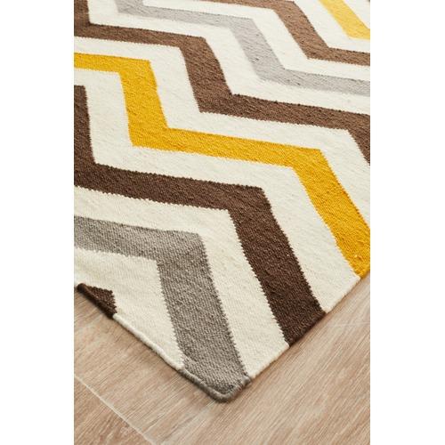 Flat Weave Design Rug