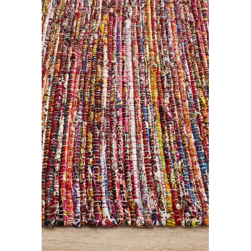 Network Rugs Primal Chindi Cotton Red Rug