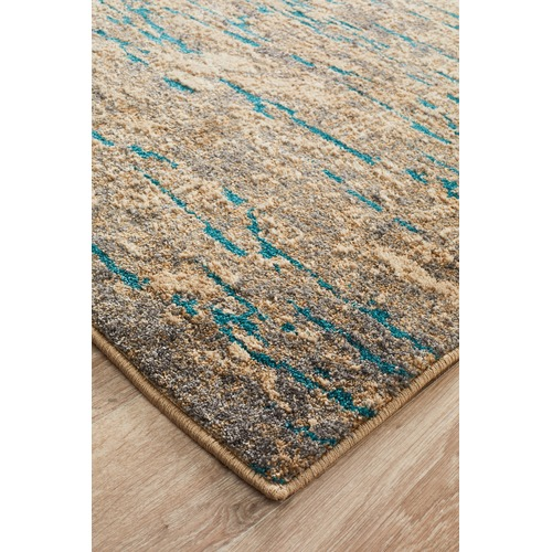 Turquoise Kitchen Rugs New Rug In The: Network Alyssa Stunning Modern Rug Natural Turquoise
