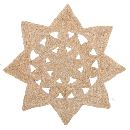 Jasmine Star Natural Rug