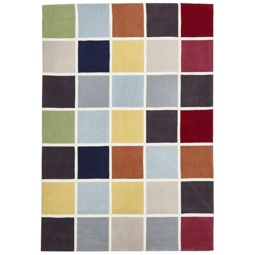 Network Rugs Multi Grid Hand Tufted Rug
