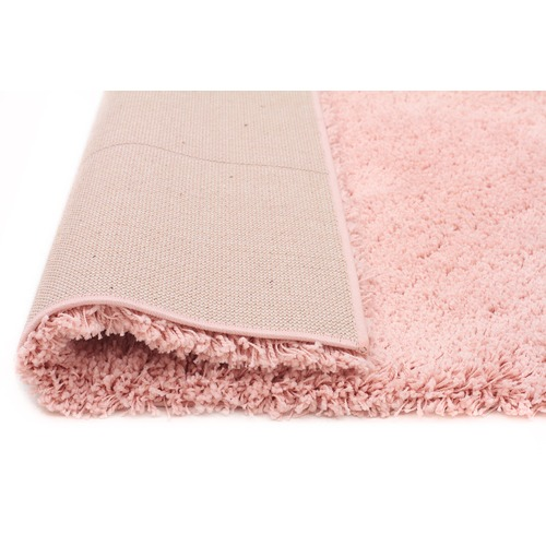 Network Rugs Pink Shag Power Loomed Rug