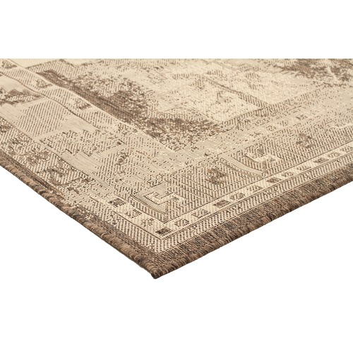 Network Rugs Neutral Vintage Look Flat Woven Rug