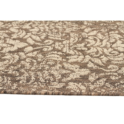 Network Rugs Grey Vintage Look Flat Woven Rug