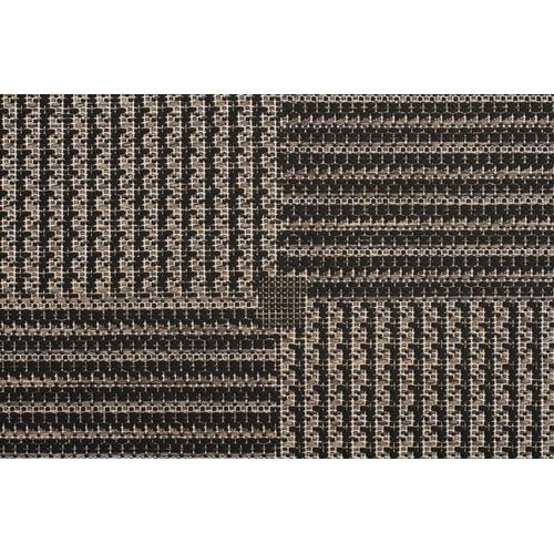 Network Rugs Black Flat Woven Rug