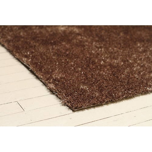Network Rugs Brown Shag Hand Tufted Rug