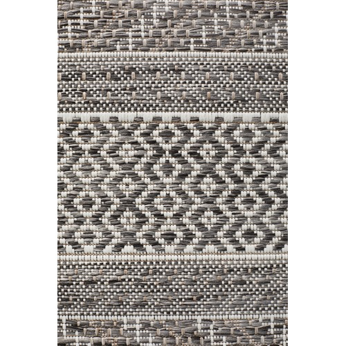 Network Rugs Charcoal Flat Woven Rug