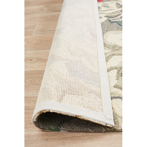 Network Rugs Ping Grey & Green Hand Tufted Recycled PET Outdoor Rug