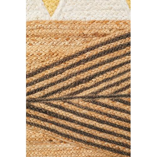 Network Rugs Yellow Calla Flat Weave Jute Rug