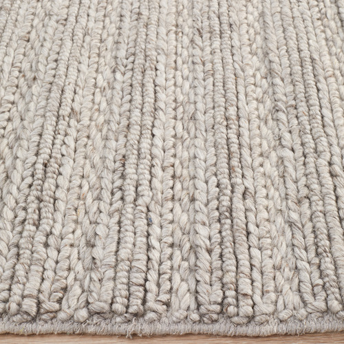 Network Rugs Silver Astrid Hand-Woven Rug