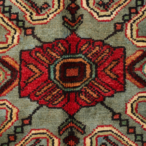 Network Rugs Dohanu Vintage Hand-Knotted Wool Rug