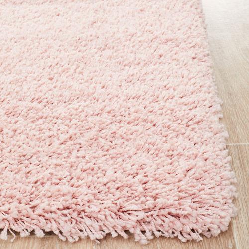 Network Rugs Pink Ultra Plush Modern Shag Rug