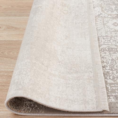 Network Rugs Stone Bamboo Silk & Acrylic Rug
