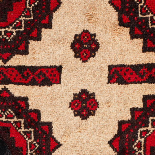 Network Rugs Tribal Hand-Knotted Wool Balouchi Rug