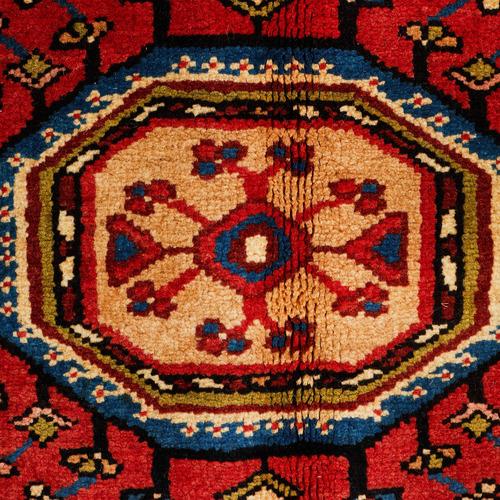 Network Rugs Multi-Coloured Wool Nahavand Rug