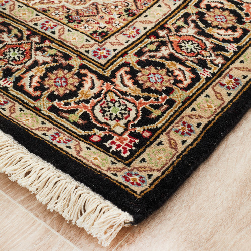 Network Rugs Gold Wool Indian Rug