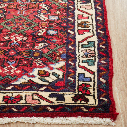 Network Rugs Red Wool Persian Hamadan Runner