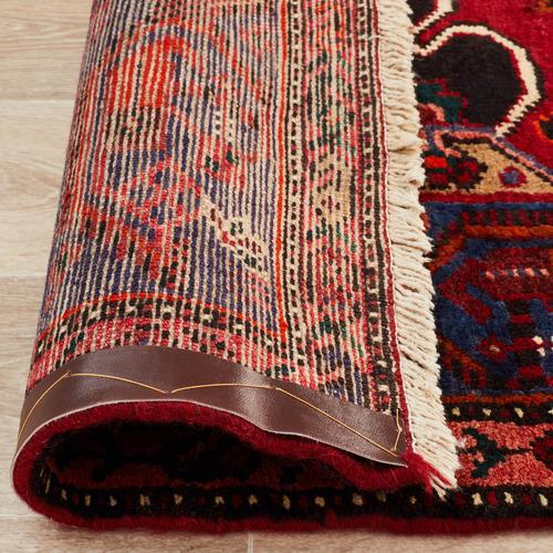 Network Rugs Red & Blue Wool Khal Mohammadi Rug