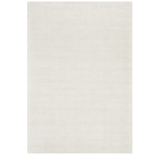 Network Rugs Ivory Rayon & Cotton Modern Rug