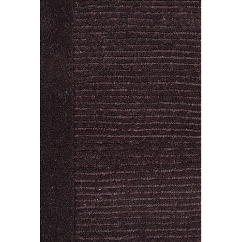 Network Rugs Luxor Wool Eggplant Contemporary Rug