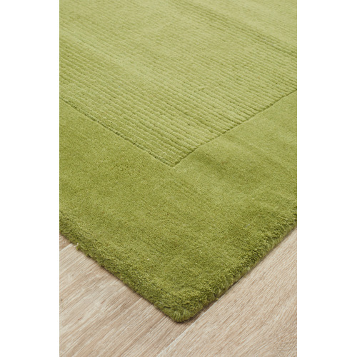 Network Rugs Luxor Wool Pistachio Contemporary Rug