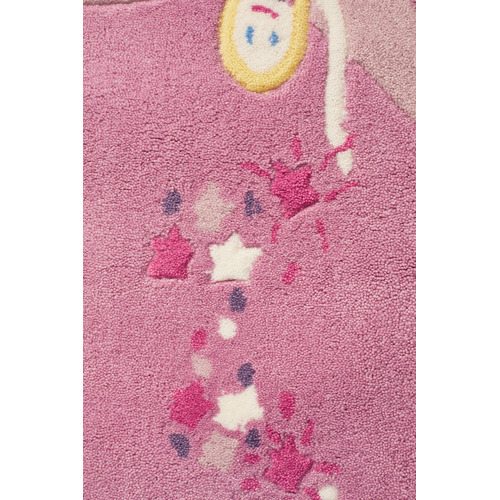 Network Rugs Gorgeous Girls Pink Fairy Tufted Rug