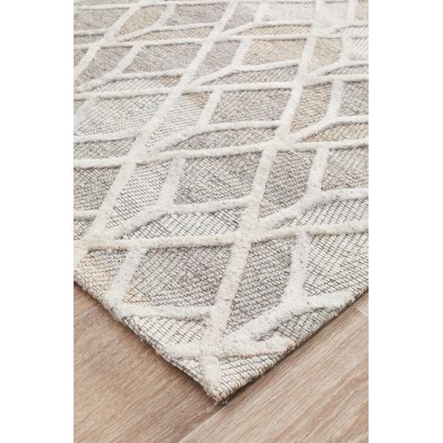 Network Rugs Clyde Jacquard Wool & Viscose Modern Rug