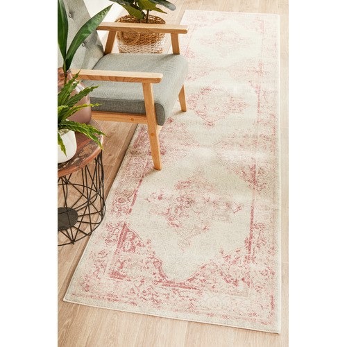 Network Rugs Rose Power-Loomed Bohemian Runner