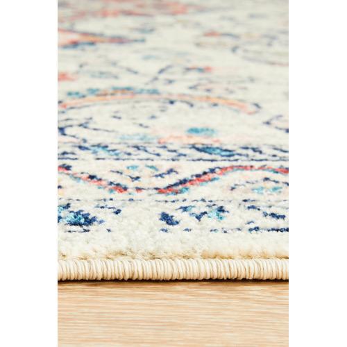 Pastel Power-Loomed Bohemain Rug