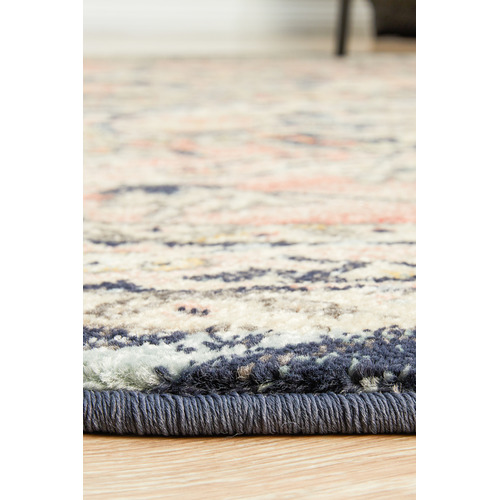 Network Rugs Brick Power-Loomed Transitional  Round Rug