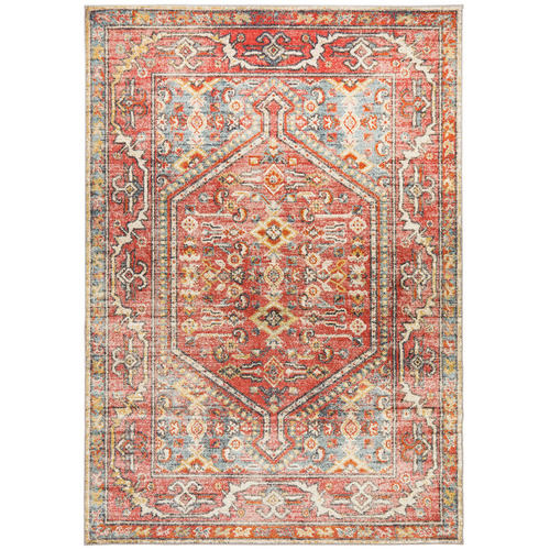 Network Rugs Crimson Power-Loomed Transitional Rug