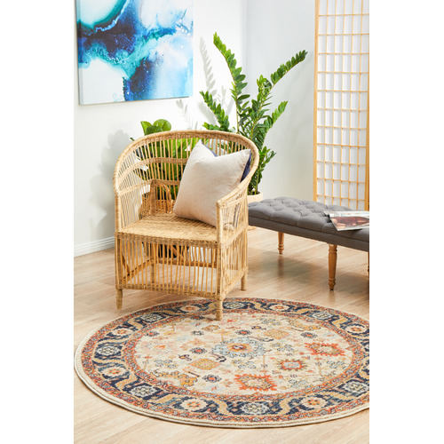 Network Rugs Dune Power-Loomed Transitional Round Rug