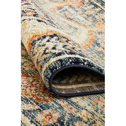 Network Rugs Rust & Beige Power-Loomed Transitional Rug