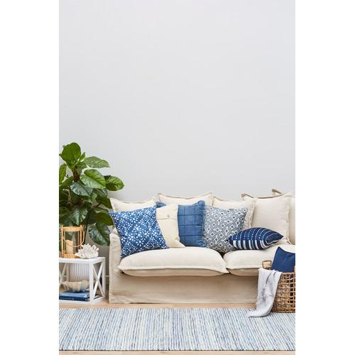 Blue Mani Scandinavian Pure Wool Rug