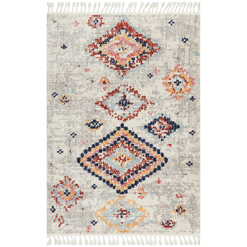 Network Rugs Silver Plush Moroccan Rug
