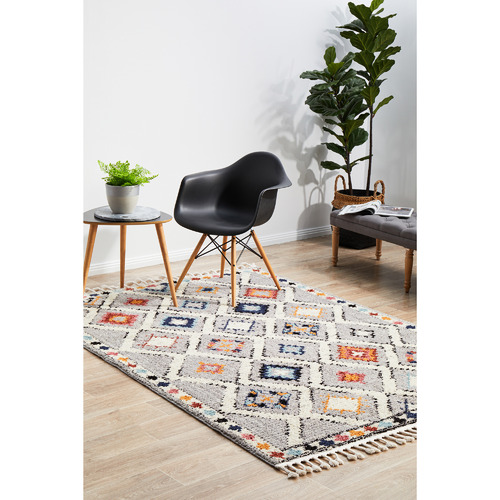 Network Rugs Grey Plush Moroccan Rug