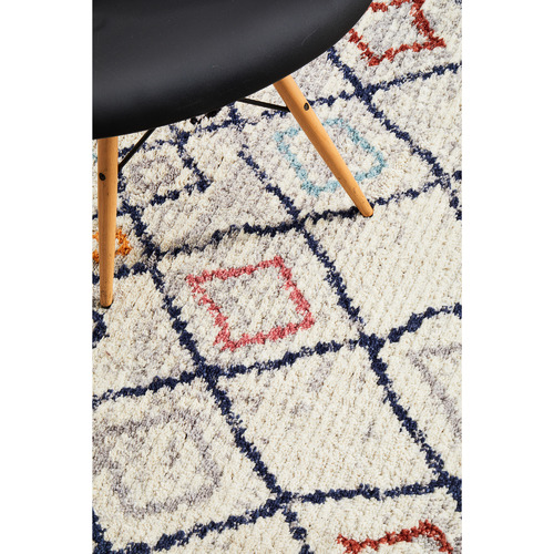 Network Rugs White Plush Moroccan Rug