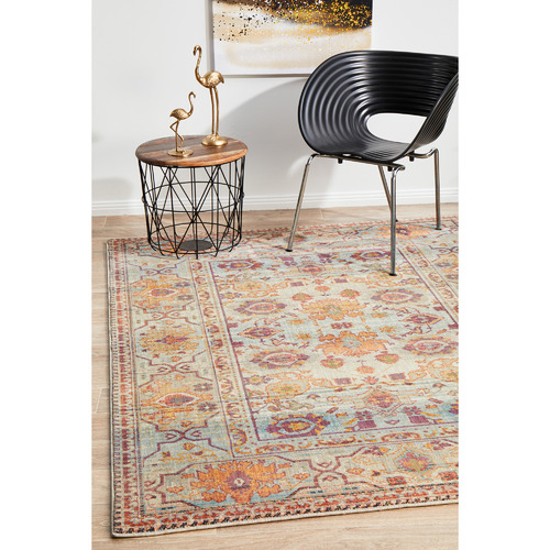 Network Rugs Multicolour Power-Loomed Rug