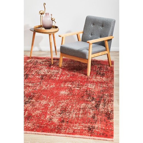 Network Rugs Coral Bamboo Silk & Acrylic Rug